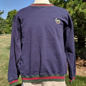 Jack Nicklaus M Blue long sleeve sweater embroider